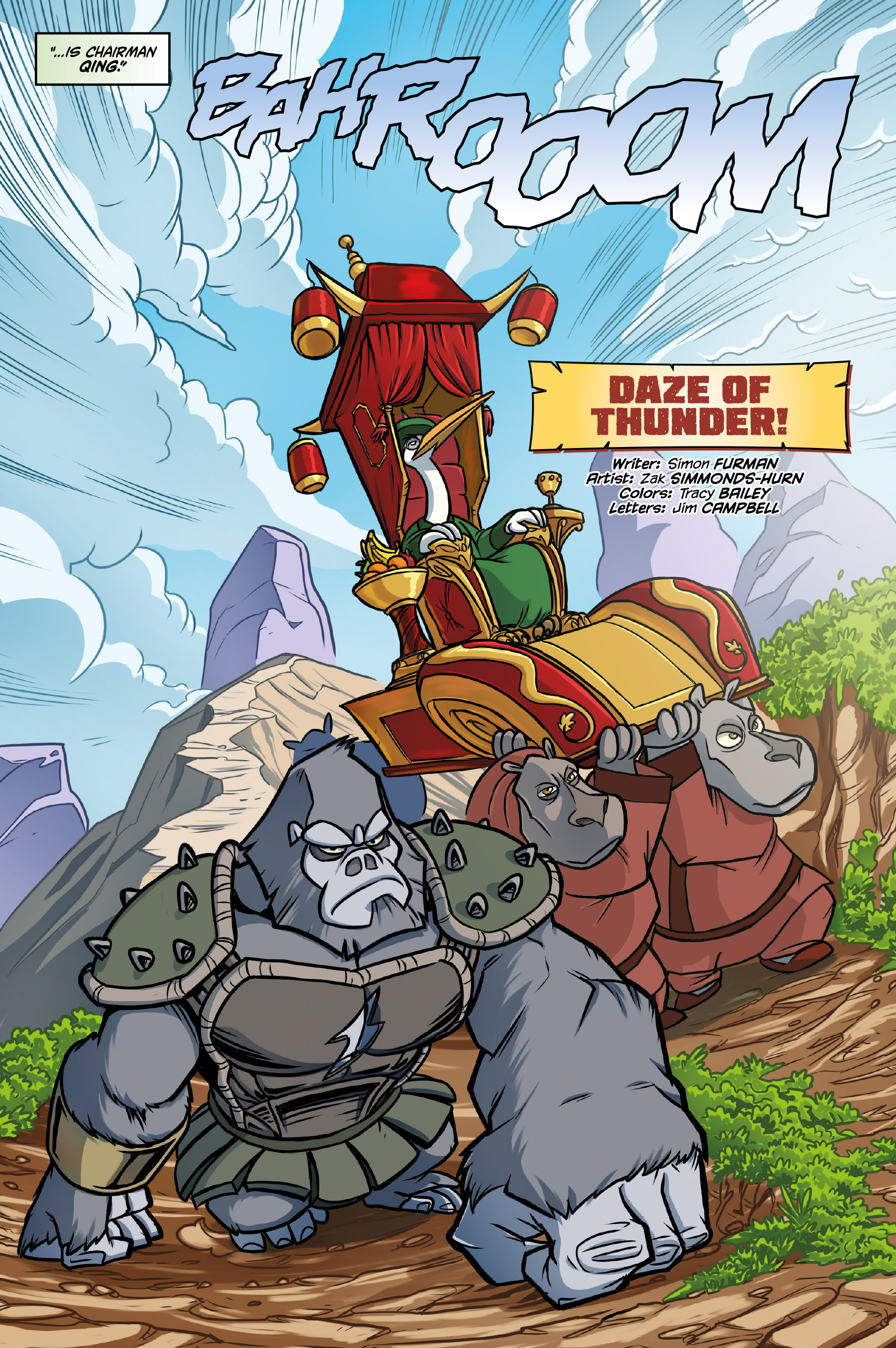 Comic Book Preview Kung Fu Panda Daze Of Thunder