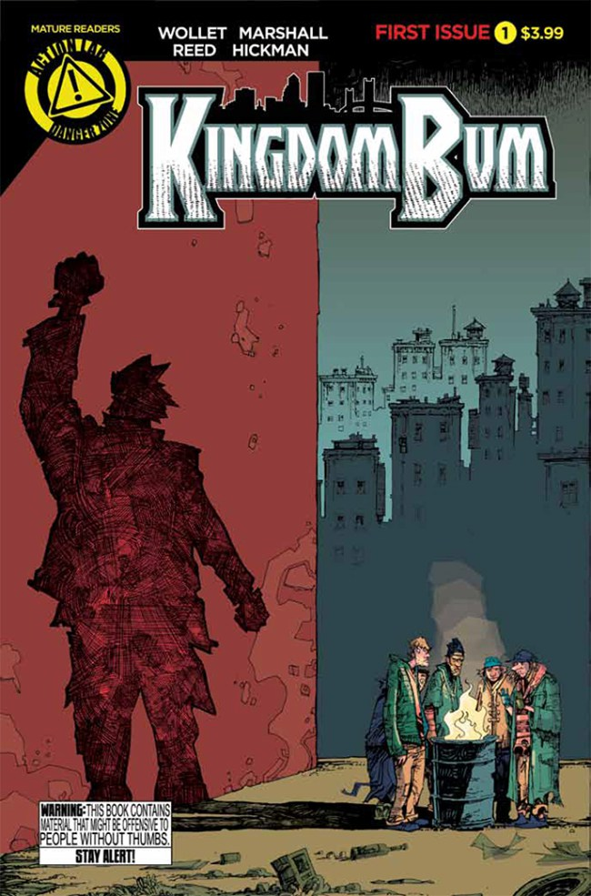 Kingdom Bum #1 Cover