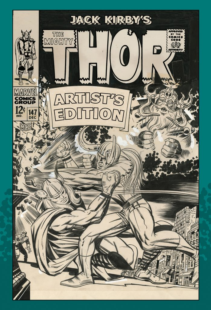 Jack Kirby's The Mighty Thor Artist's Edition HC Cover