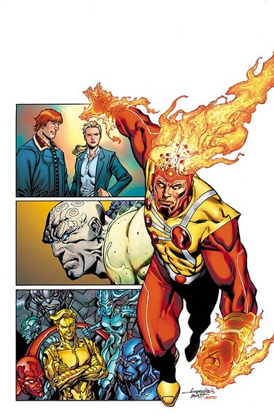 Legends of Tomorrow #1 Cover