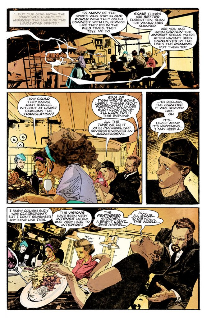 THE DEATH-DEFYING DOCTOR MIRAGE: SECOND LIVES #1 (of 4) Preview Page