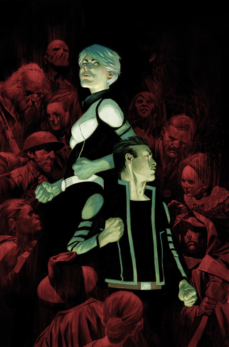 The Death-Defying Doctor Mirage: Second Lives #4 Cover