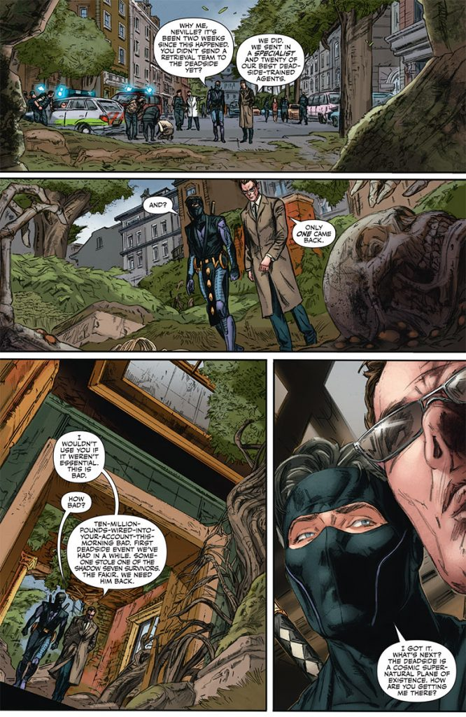 NInjak #10 Preview Page