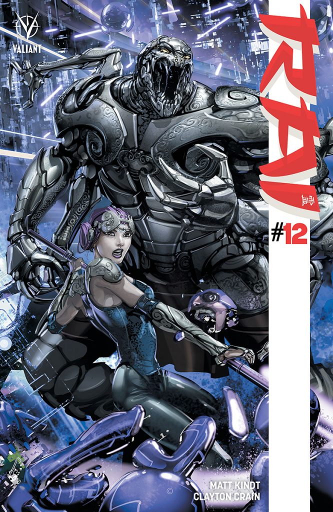 Rai #12 Cover