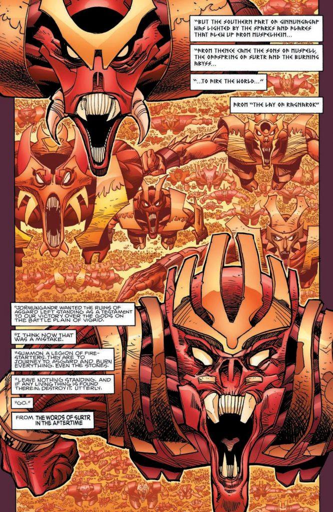Ragnarok #7 Preview Page