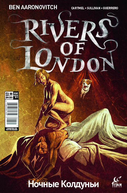 Rivers of London: Night Witch #1 Cover