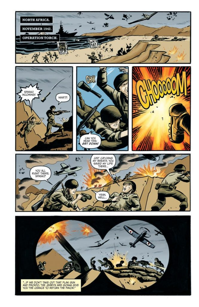 The Rocketeer at War #1 Preview Page