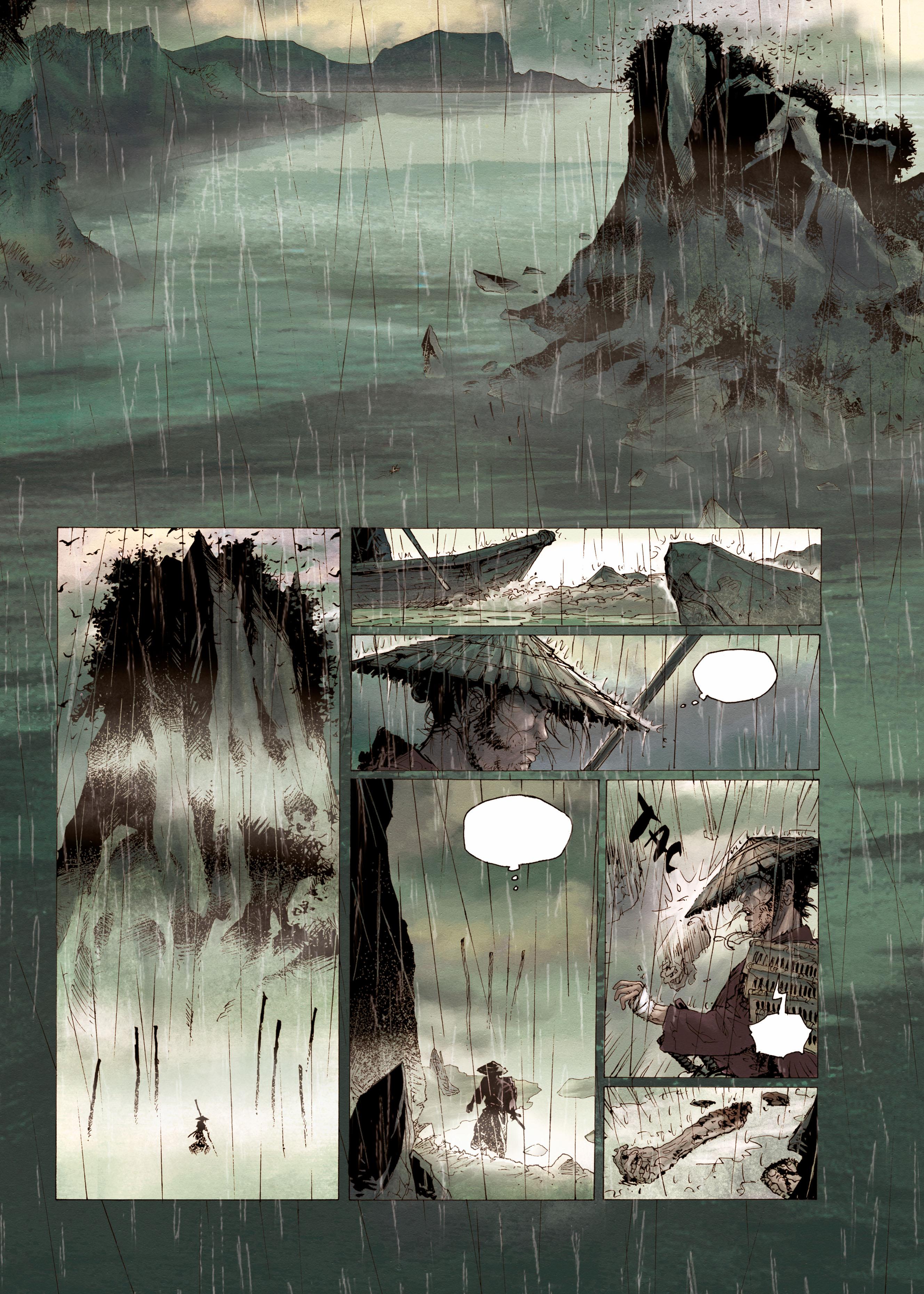 Samurai #1 Preview Page