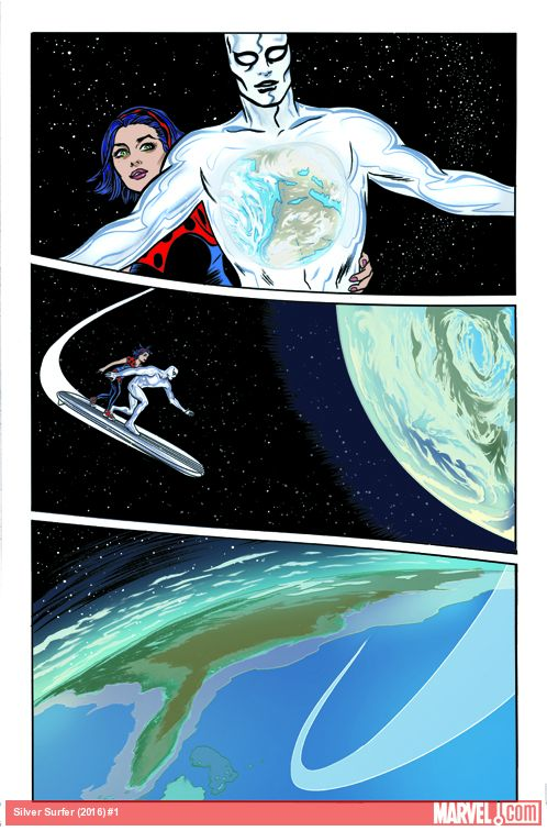 Silver Surfer #1 Preview Page