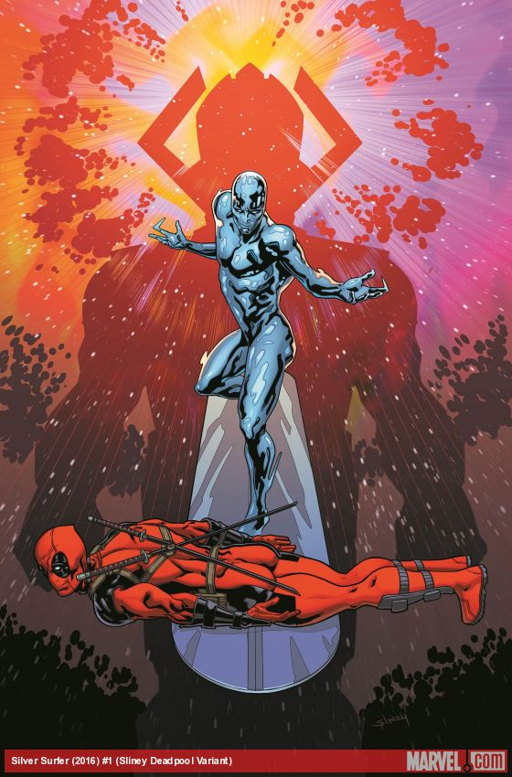 Silver Surfer #1 Cover