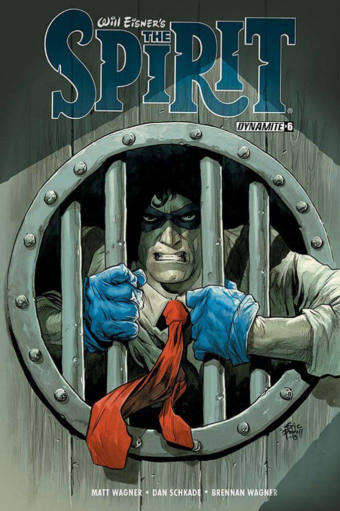 Will Eisner's The Spirit #6 Cover