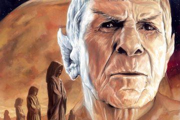 Star Trek #55 Legacy of Spock Part One Cover
