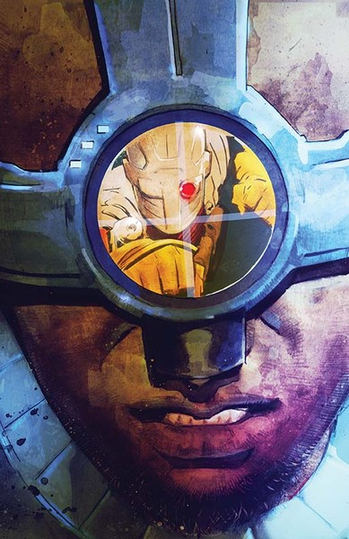 Suicide Squad Most Wanted: Deadshot/Katana #3 Cover