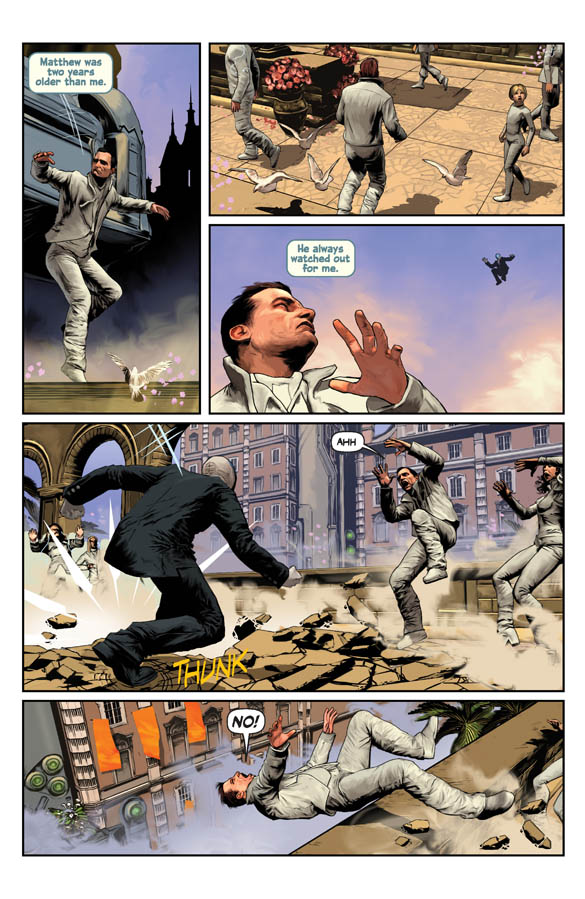 Symmetry #1 Preview Page