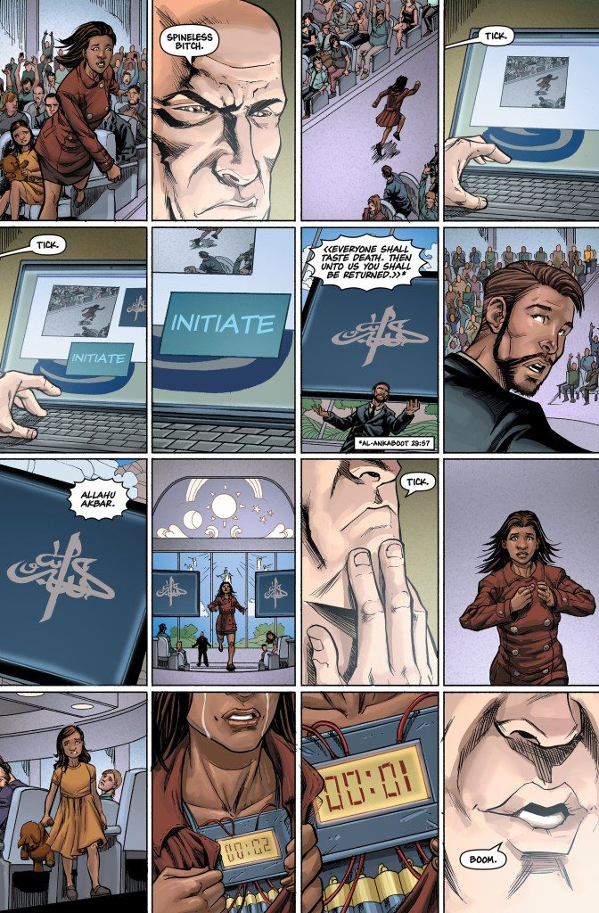 The Tithe #7 Preview Page