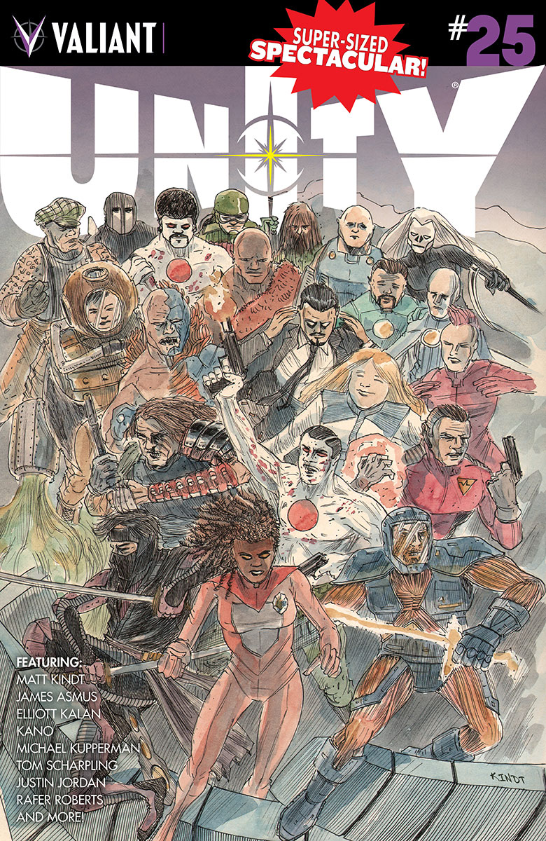 Unity #25 Cover