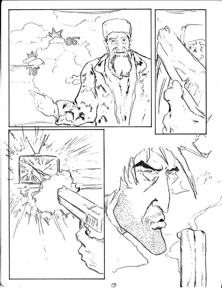 Man vs Rock Volume 5 Preview