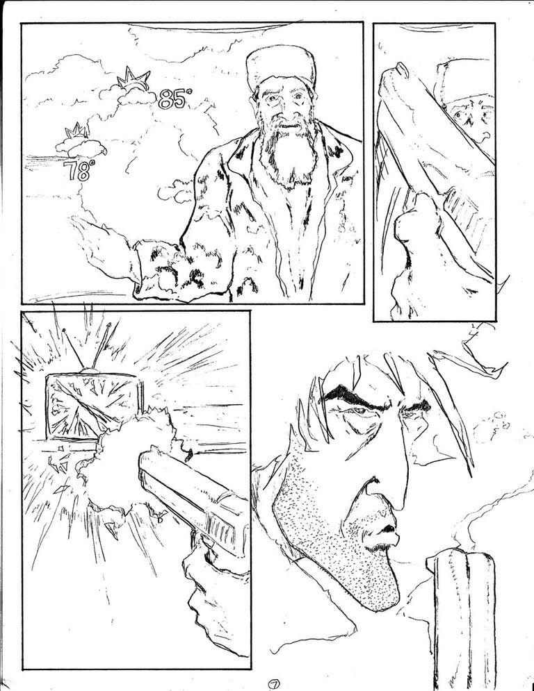 Man vs Rock Volume 5 Preview