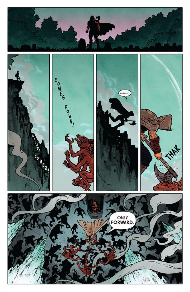 Wrath of the Eternal Warrior #2 Preview Page