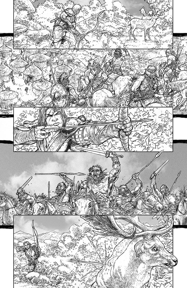 Wrath of the Eternal Warrior #5 Preview Page
