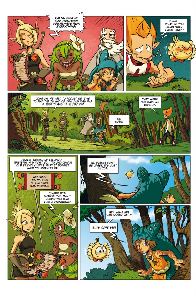 Wakfu #1 Preview Page