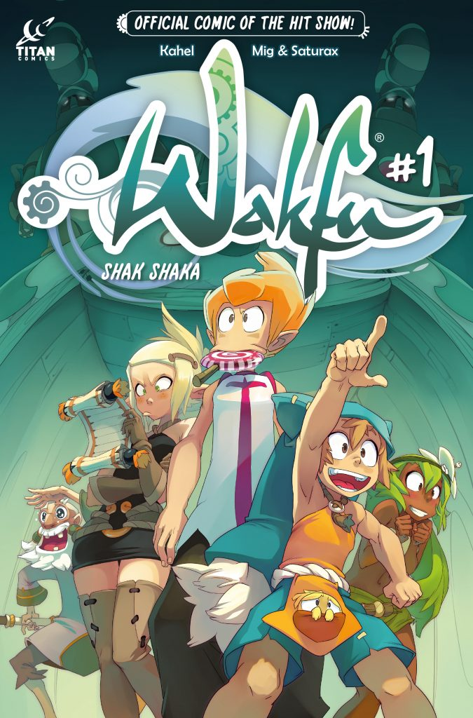 Wakfu #1 Cover A by Mig & Saturax