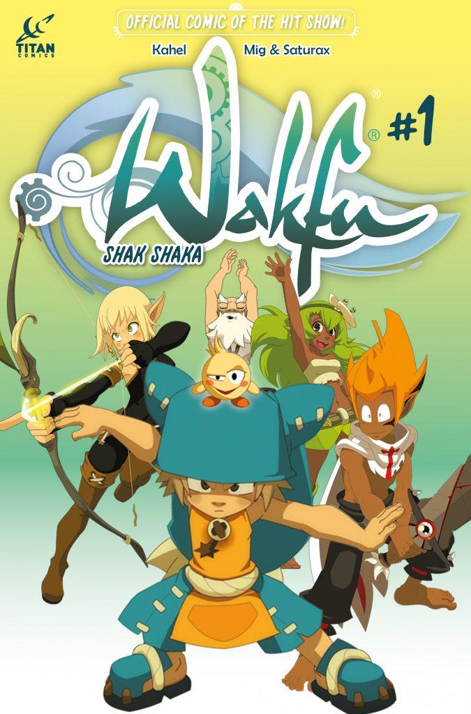 Wakfu #1 Cover B by Mig & Saturax