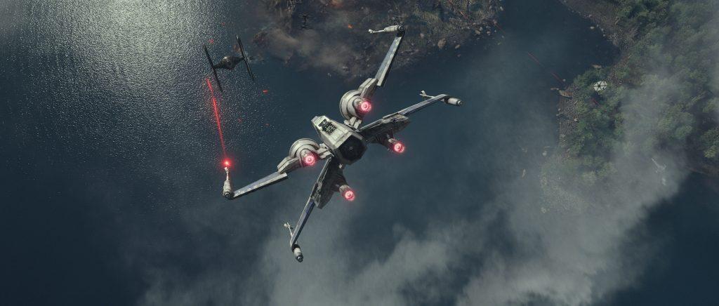 X-Wing Over Takodano