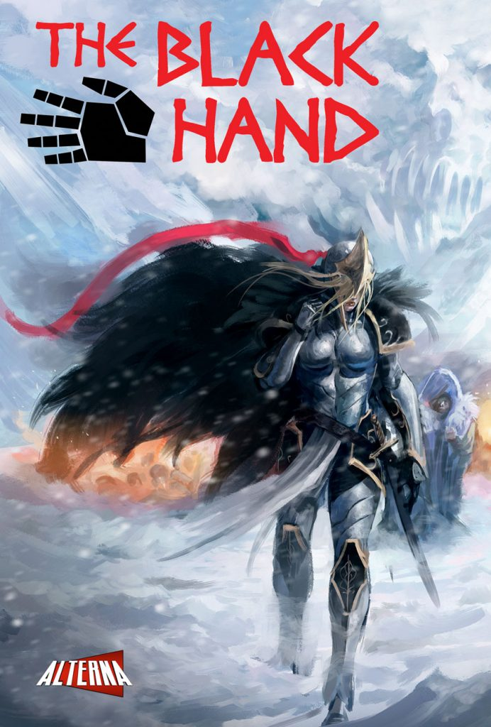 The Black Hand Preview Cover