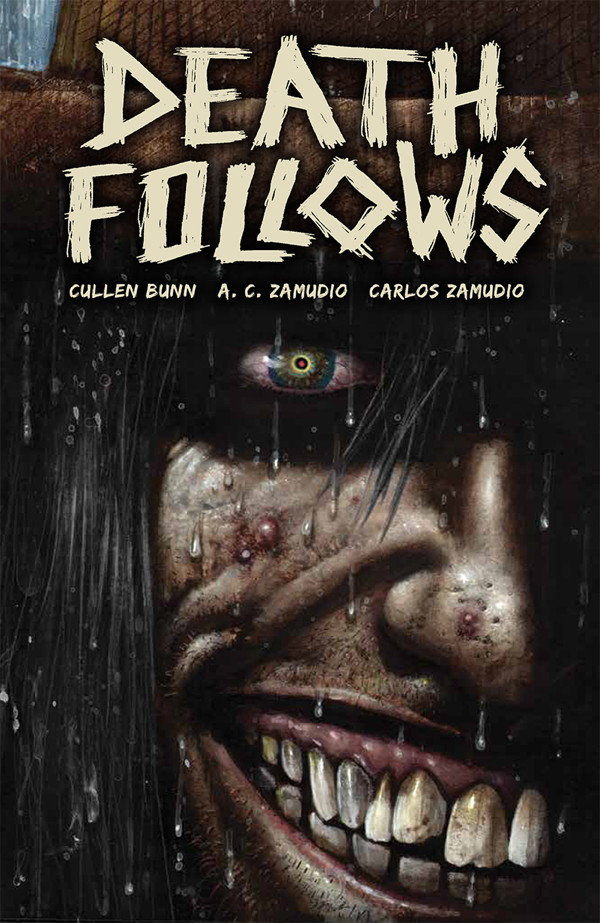 Death Follows Cover by Simon Bisley