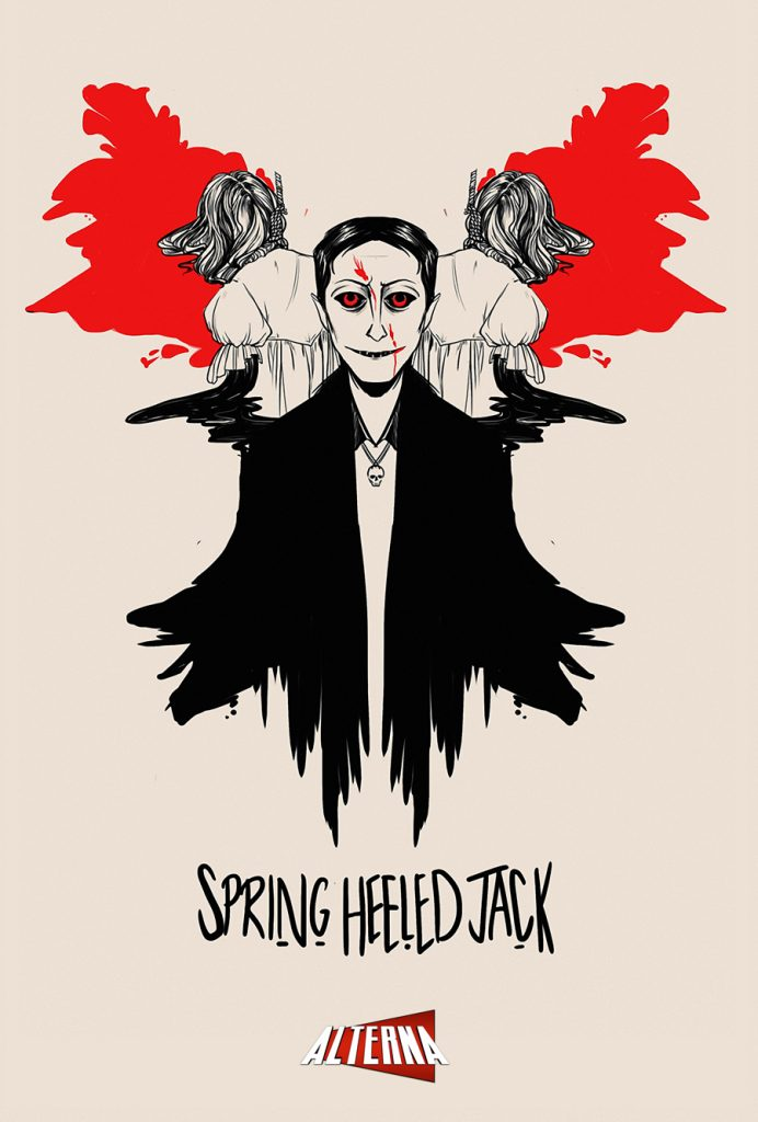 Spring Heeled Jack Preview Page
