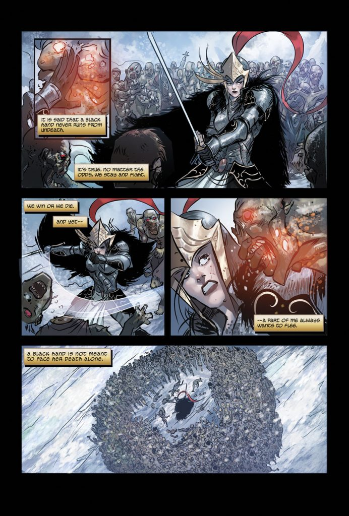 The Black Hand Preview Page