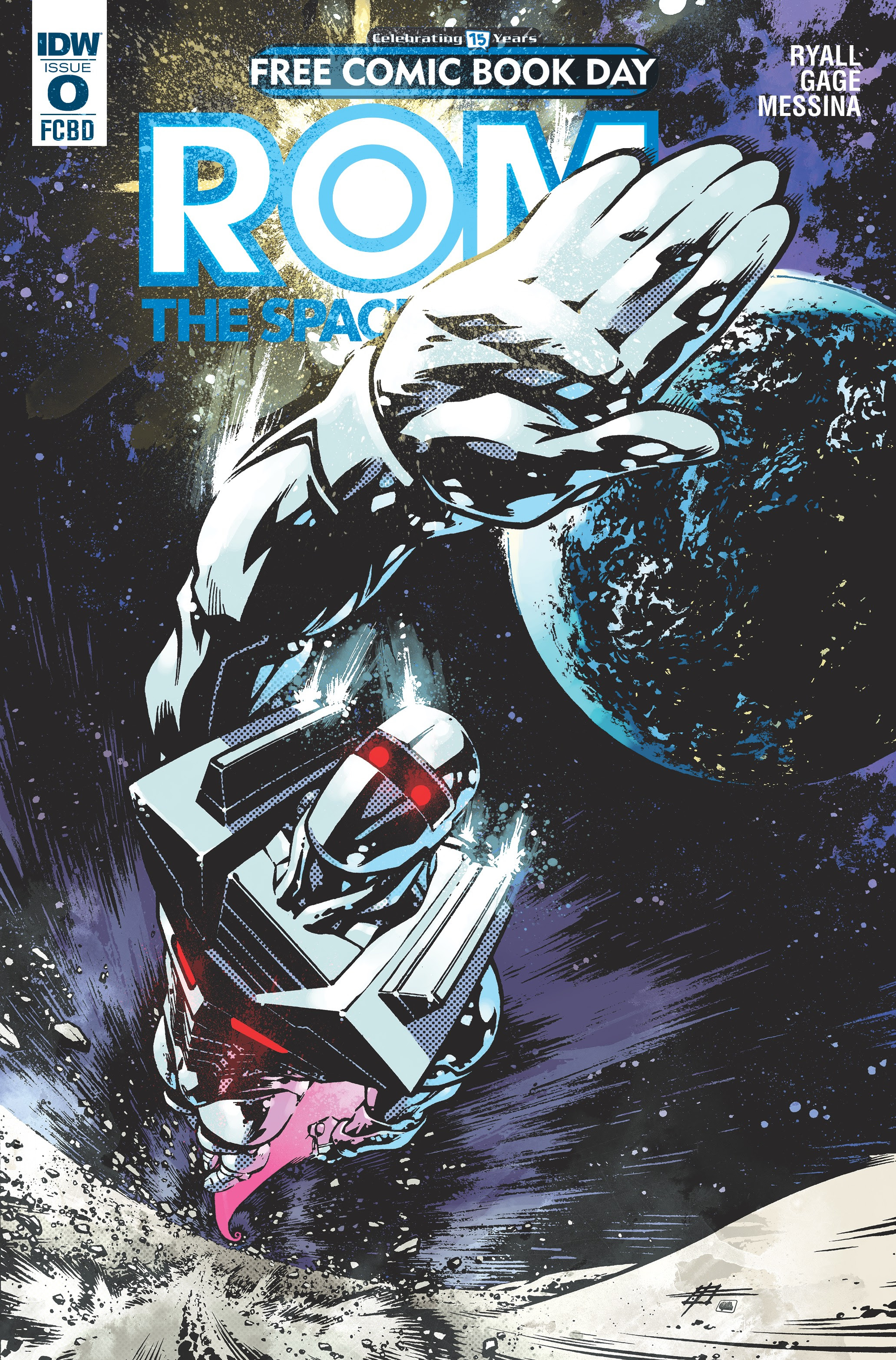 Rom The Space Knight #0 Cover