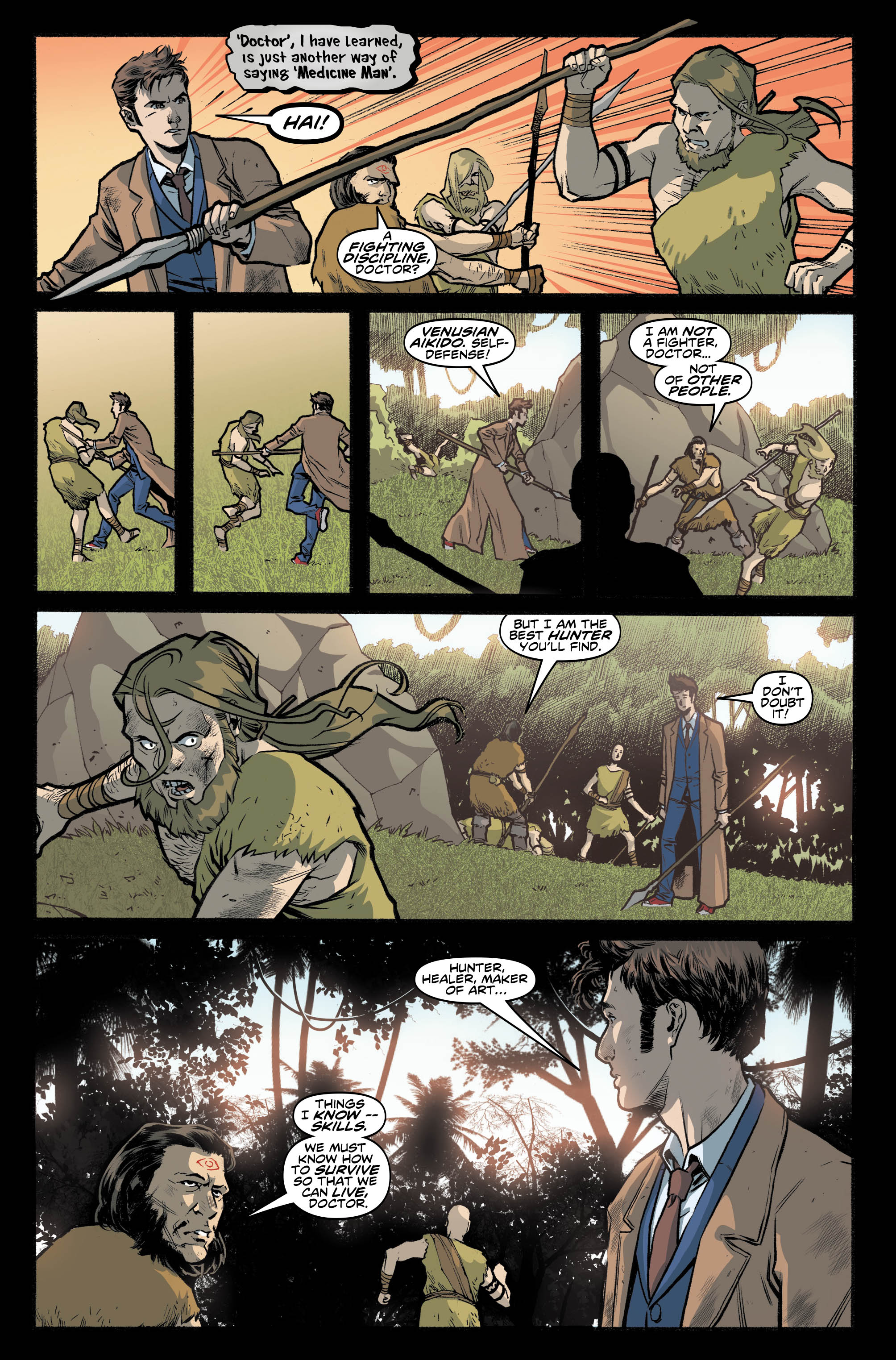 Doctor Who: The Tenth Doctor #2.5 Preview Page
