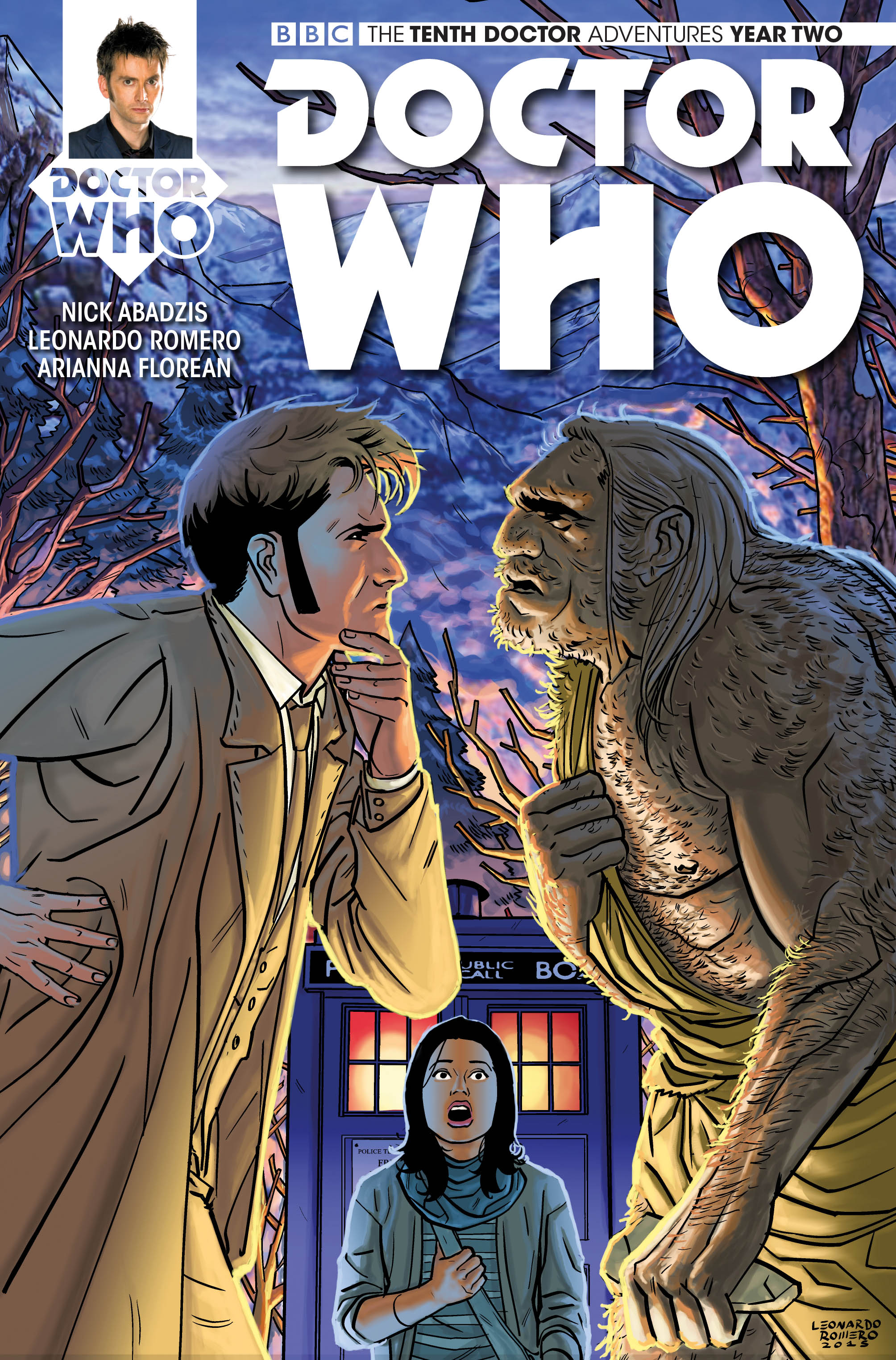 Doctor Who The Tenth Year Two 4 Cover