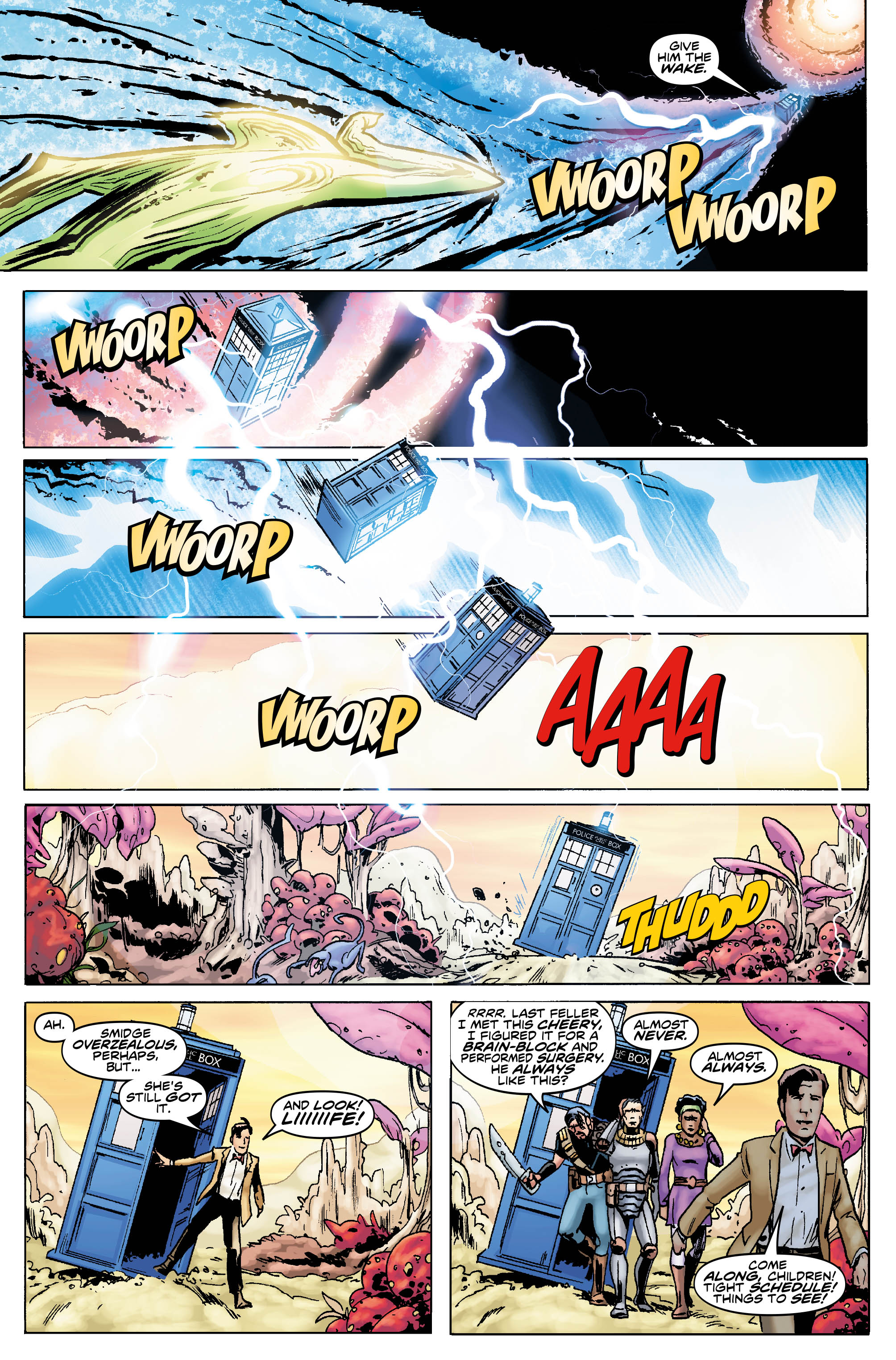 Doctor Who: The Eleventh Doctor #2.5 Preview Page