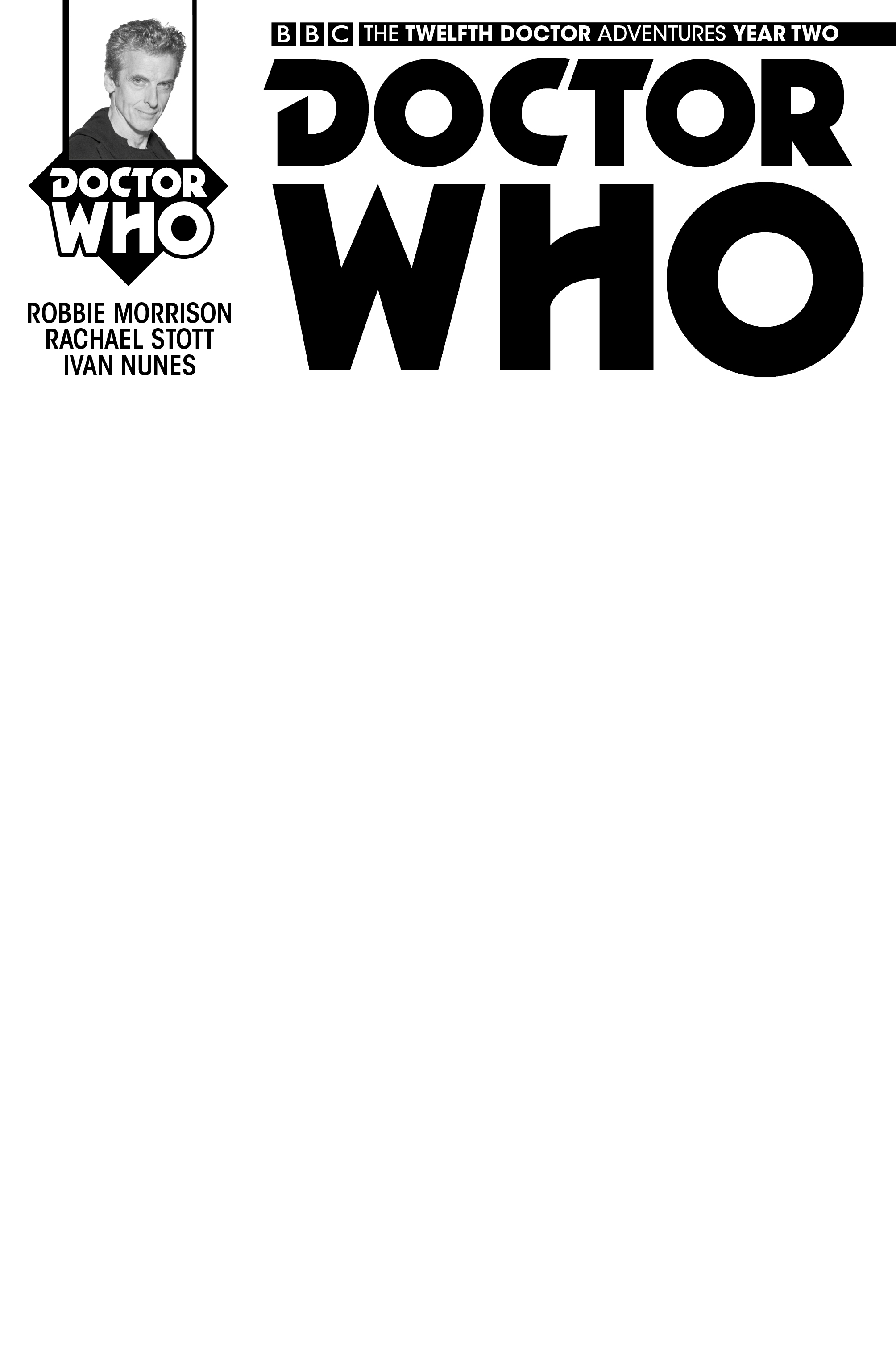 Doctor Who: The Twelfth Doctor - Year Two #1 Cover