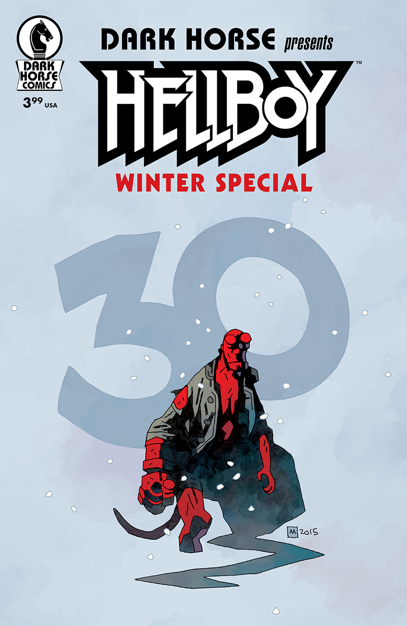 Hellboy Winter Special Variant Cover