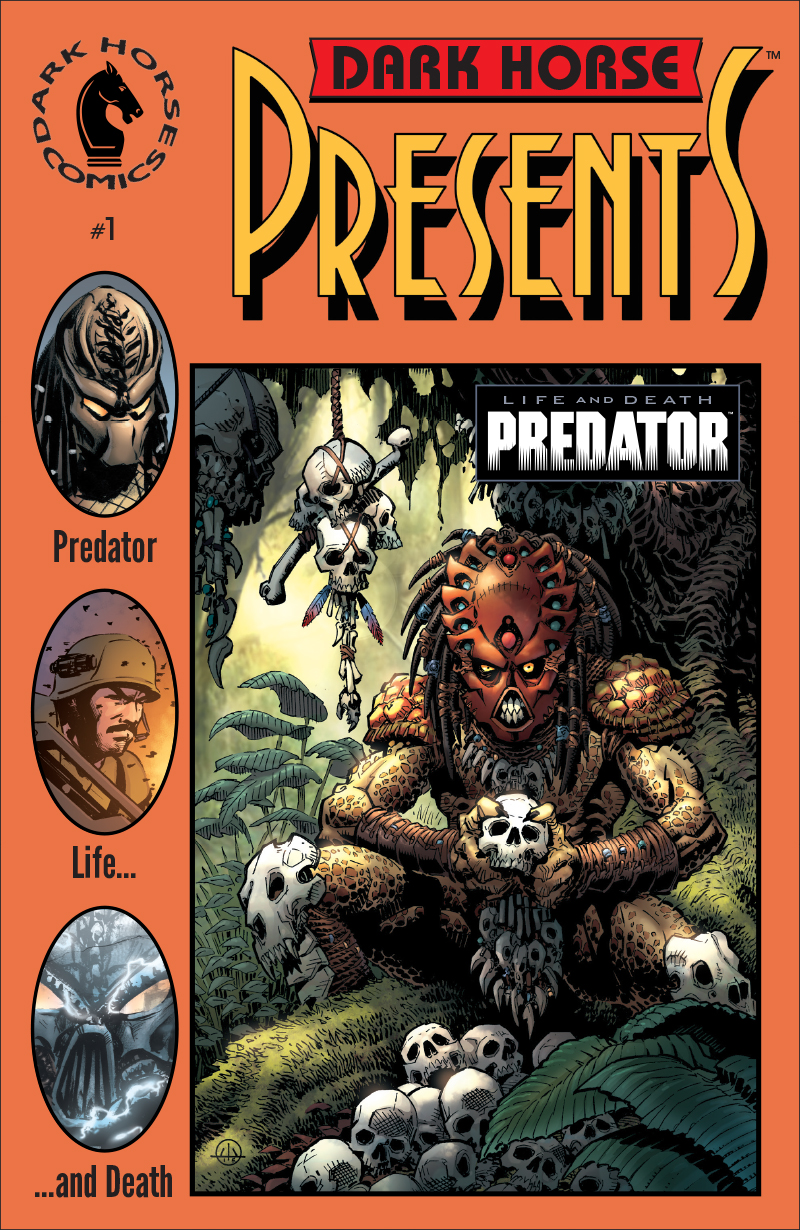 Predator: Life and Death #1 Cover