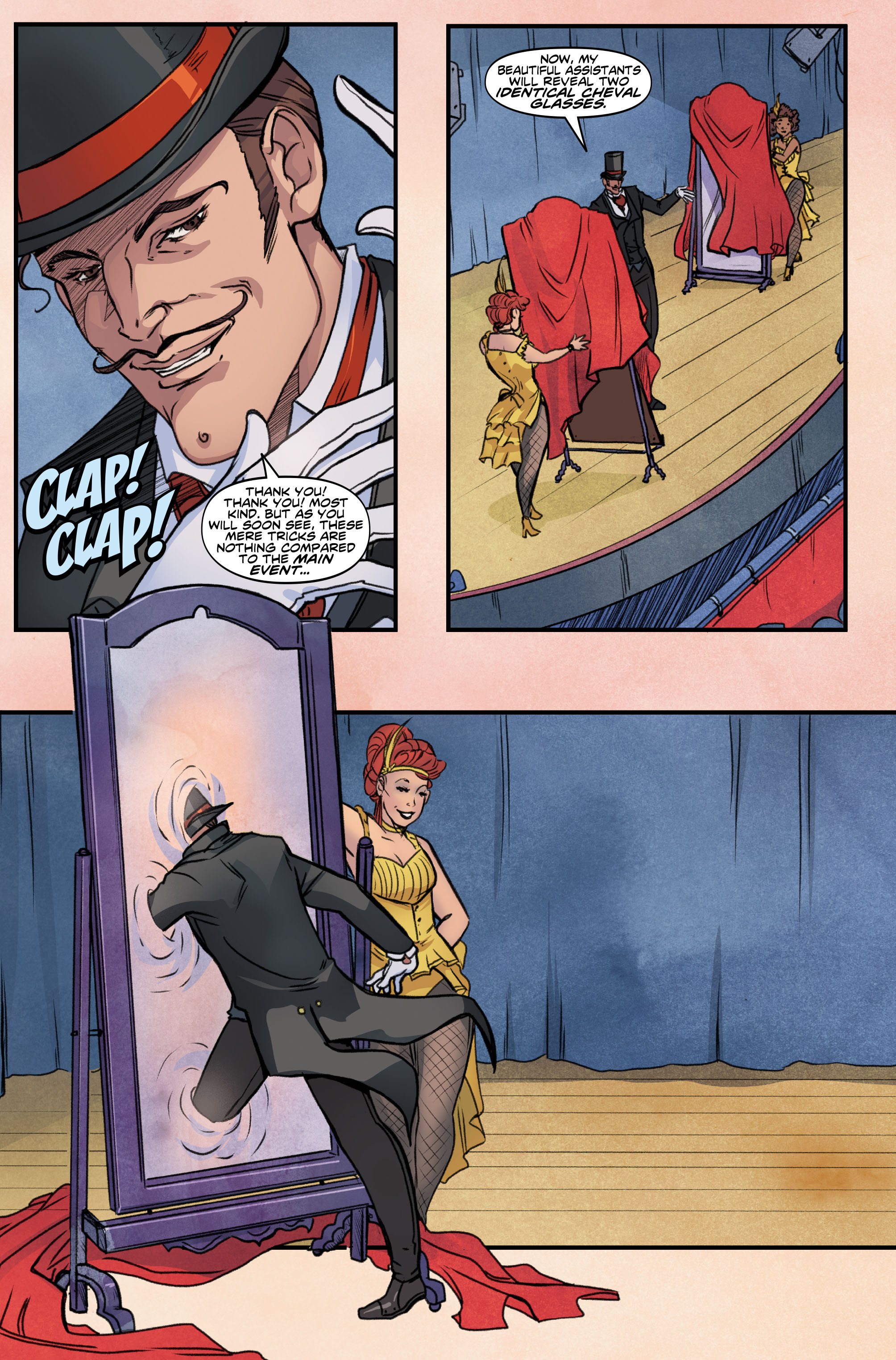 Doctor Who: The Eighth Doctor #3 Preview Page