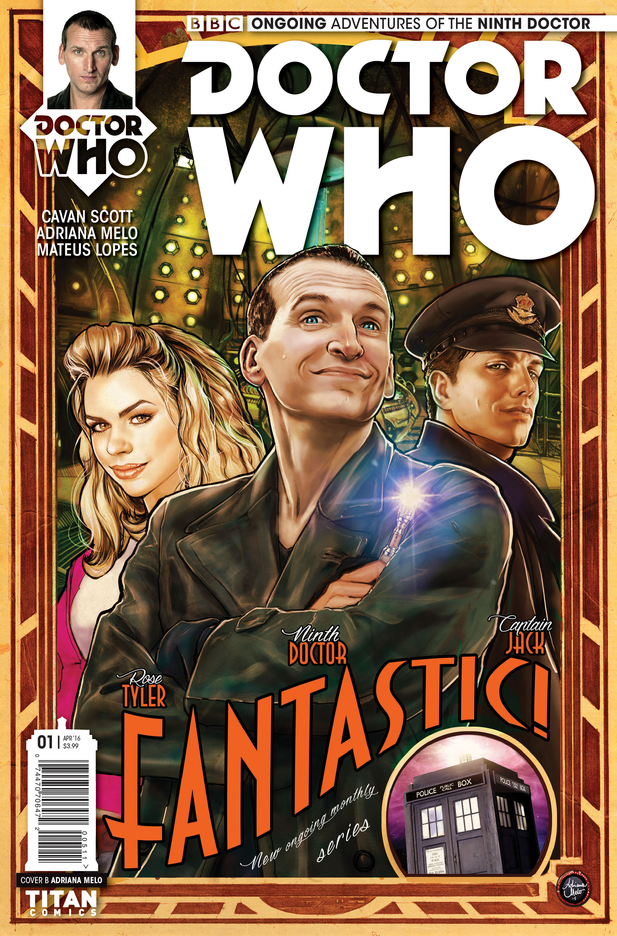 Doctor Who: The Ninth Doctor #1 Cover