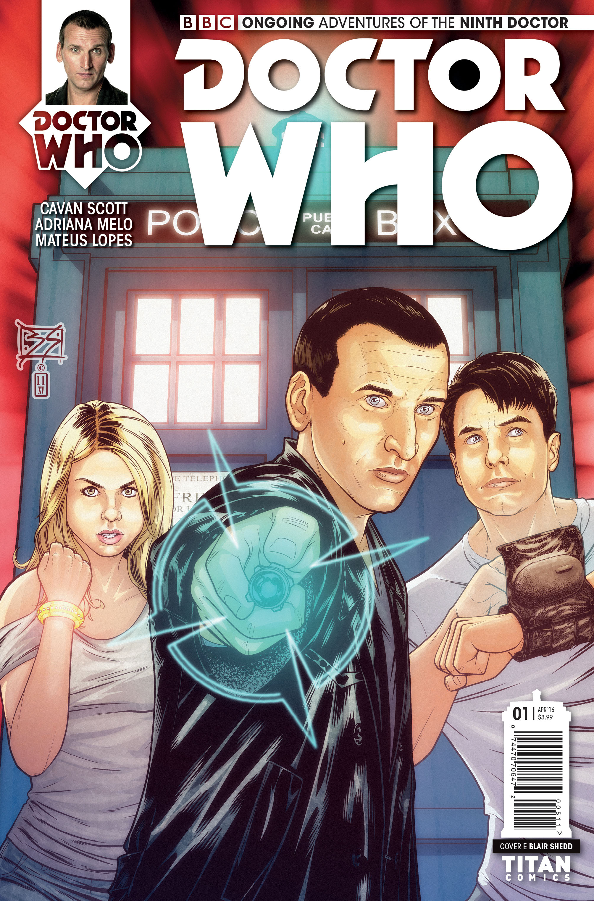 Doctor Who The Ninth 1 Cover