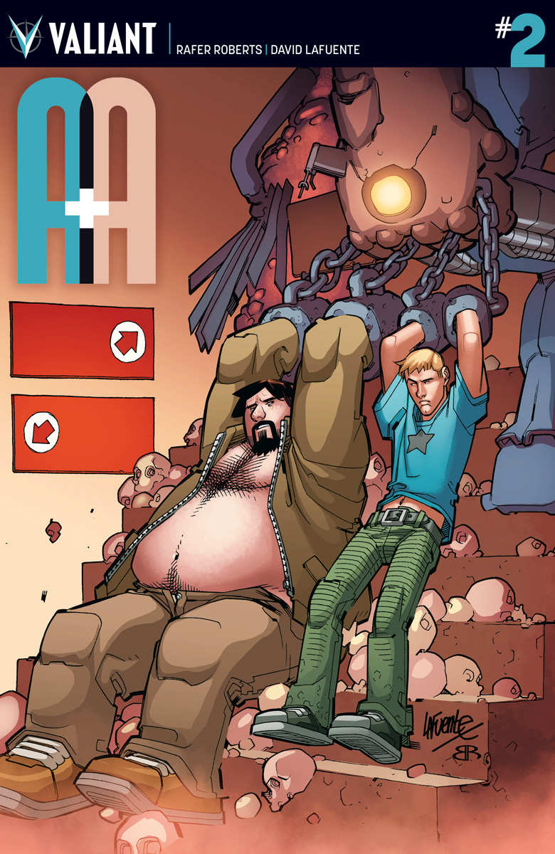 A&A: The Adventures of Archer & Armstrong #2 Cover