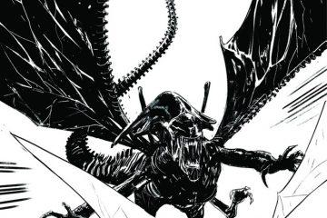 Aliens / Vampirella #5 Cover