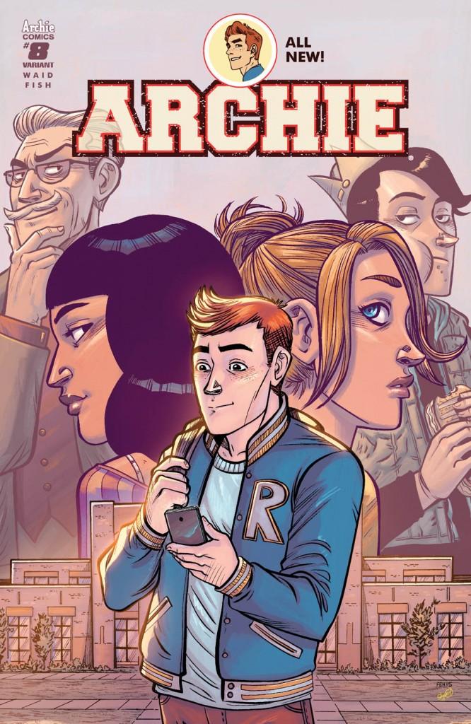 Archie And Dark Circle Comics April 2016 Solicitations Bounding Into Comics