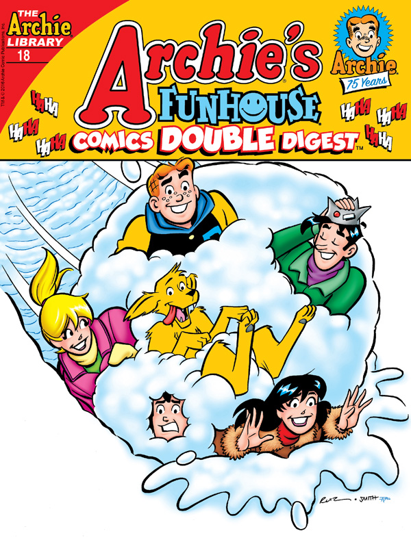 ARCHIE'S FUNHOUSE COMICS DOUBLE DIGEST #18 Cover