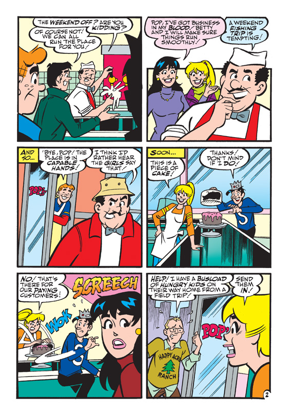 ARCHIE'S FUNHOUSE COMICS DOUBLE DIGEST #18 Preview Page