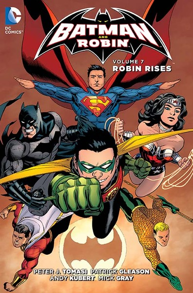 BATMAN AND ROBIN VOL. 7: ROBIN RISES TP Cover