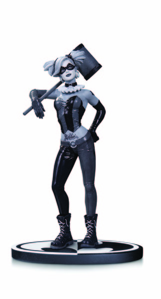 BATMAN BLACK & WHITE HARLEY QUINN BY LEE BERMEJO STATUE