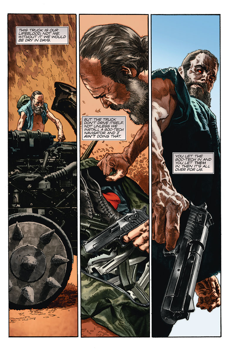 Bloodshot Reborn #10 Preview Page